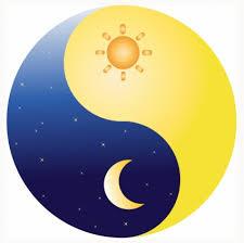 月と太陽2